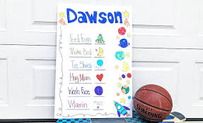Kid Approved Diy Chore Chart For Kids Ooly