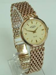 rotary elite 9ct gold ladies watch hollins hollinshead pre owned rotary elite 9ct gold ladies watch rw0201