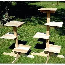 outdoor cat furniture splaycom indo diy outdoor cat tree