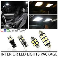 Ledpartsnow Interior Led Lights Replacement For 2004 2008 Ford F 150 F150 Accessories Package Kit 5 Bulbs White