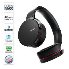 sony bluetooth headset. amazon.com: sony mdrxb950bt/b extra bass bluetooth headphones (black): home audio \u0026 theater headset s