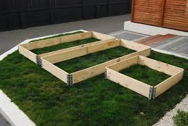 building a garden bed. Modular Pallet Collars System Building A Garden Bed 2