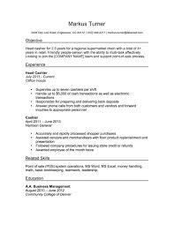 Cashier Resume Sample Resume Samples Pinterest Resume Sample