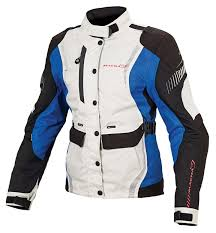 macna beryl textile jackets silver grey blue women s clothing macna motorcycle gear canada