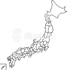 日本地図イラスト No 108361無料イラストならイラストac