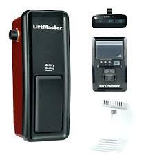 garage door opener liftmaster wall mounted garage door opener elite battery backup capable wall mount garage