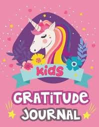 Kids Gratitude Journal Cute Unicorn 90 Days Daily Writing For