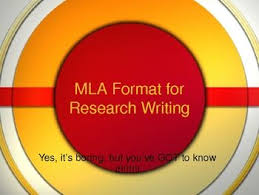 Mla Format Powerpoint Many Free Products Others Between 1 5