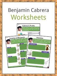 Benjamin Cabrera Facts, Worksheets, Biography & Education For Kids