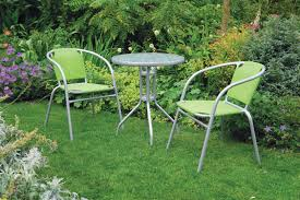 metal patio table uk. uk-gardens 3 piece bistro set for 2 - green and grey stacking garden patio metal table uk i