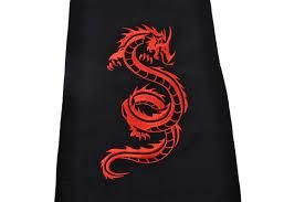 Embroidered Dragon Kungfu Belt 2