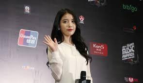 Music Bank K Chart 2018 Iu Gives Fair Warning On Chart Dominating Single Bbibbi