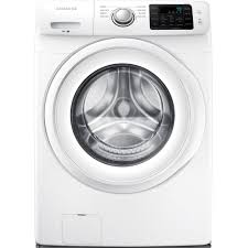 How Do High Efficiency Washers Work Samsung 42 Cu Ft High Efficiency Front Load Washer In White