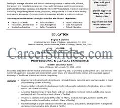 Comfortable Free Lvn Resume Sample Contemporary Entry Level