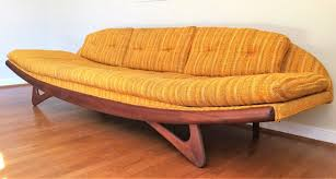 Mid century modern furniture Cheap Mid Century Modern Adrian Pearsall Gondola Sofa For Craft Associates The Spruce Mid Century Modern Adrian Pearsall Gondola Sofa For Craft Associates