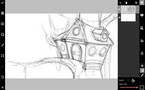 how to draw a treehouse step by step. Simple Draw How To Draw A Treehouse Step By For How To Draw A Treehouse Step By