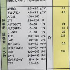 肝 機能 数値