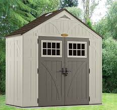 8 x 4 suncast new tremont five resin storage sheds