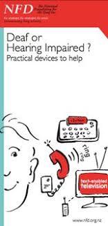Deafness Health Navigator Nz