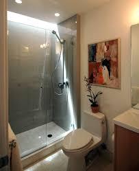 Bathroom Shower Ideas Two Chrome Metal Wall Towel Hanging