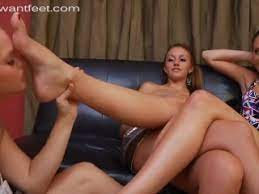 White Girl Lesbian Feet