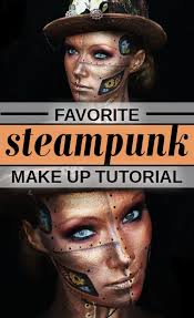 our favorite steunk makeup tutorial video journey through style