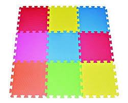 floor mats for kids. Plain For Amazoncom POCO DIVO 9tile Multicolor Exercise Mat Solid Foam EVA  Playmat Kids Safety Play Floor Toys U0026 Games In Floor Mats For Y