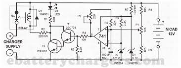 automatic nicd battery charger circuit 24v 10a battery charger circuit diagram at 24 Volt Battery Charger Diagram