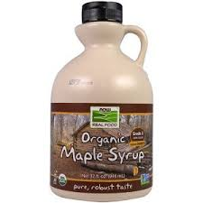 Now Foods, <b>Real Food</b>, Organic Maple Syrup, Grade A Dark Color