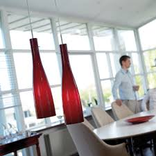 Red Pendant Lights For Kitchen Unique Red Pendant Light Burning Your Spirit Amaza Design