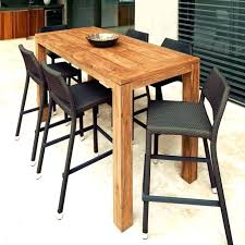 outdoor bar table and chairs. Contemporary Outdoor Bar Furniture Modern Stool Patio Pub Table Sets Stools With Height Set Sling Appealing T And Chairs R
