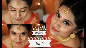 south indian bridal makeup tamil bride muhurtham makeup