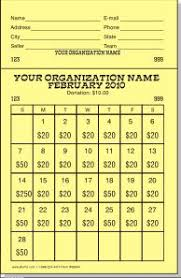 Lottery Ticket Fundraiser Template Magdalene Project Org