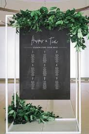Modern Wedding Seating Chart 25 Modern Wedding Seating Charts To Try Wedding