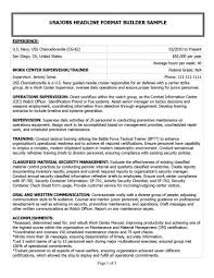 Unthinkable Military Experience On Resume 5 Samples Exa Sevte