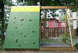 backyard climbing wall rock climbing wall backyard backyard rock climbing wall for