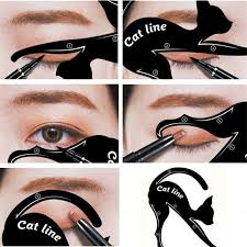 eyeliner makeup stencil easy cat eye in second eyebrow tinting makeup from lucas211 0 42 dhgate
