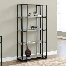 bookshelf metal and glass bookcase doors