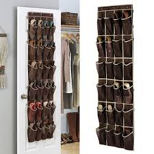 2019 24 grid home over door hanging organizer convenient storage holder rack closet shoes keeping from kenna456 13 57 dhgate com