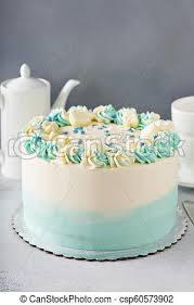 Simple Baby Shower Or Baptism Cake Simple Baby Shower Birthday Or
