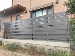 フェンス、列柱施工事例集 茨城県阿見町│エマガーデン│エクステリア・外構