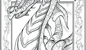 Dragon Coloring Pages Islandersshoponlinecom