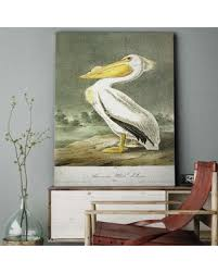 wexford home american white pelican gallery wrapped canvas wall art 18 x on pelican canvas wall art with summer s hottest sales on wexford home american white pelican