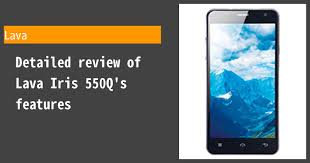 Lava Iris 550Q - Features and reviews ...