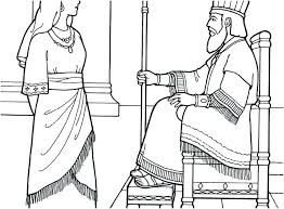 Esther Coloring Page King Choose To Be His Queen Coloring Page Queen