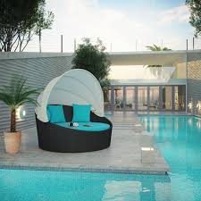 Round Outdoor Bed Furniture Patio Canopy Bed Outdoor Daybed With Canopy Round