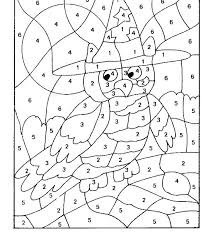 Free Printable Color By Numbers Free Printable Color By Number