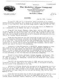 What Is An Internal Memo 1938 Internal Memorandum