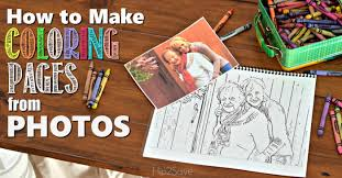 Small Picture Make Custom Coloring Pages from YOUR Photos Hip2Save