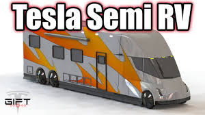the rv world just got more electrified with tesla semi rv cer concept torque news